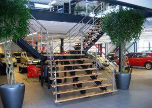 Utiliteitsbouwtrap- Level Trappen & Constructies B.V. - Utiliteitsbouw Trap