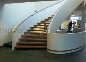 Bordestrap Kantoor - Level Trappen & Constructies B.V. - Utiliteitsbouw Trap
